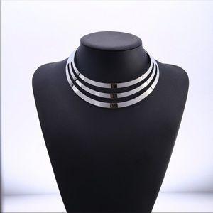 Multi Layer Fashion style choker necklace